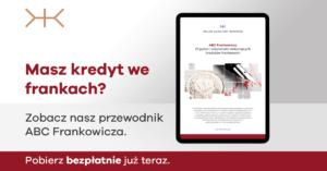 kredyt franki szwajcarskie kancelaria